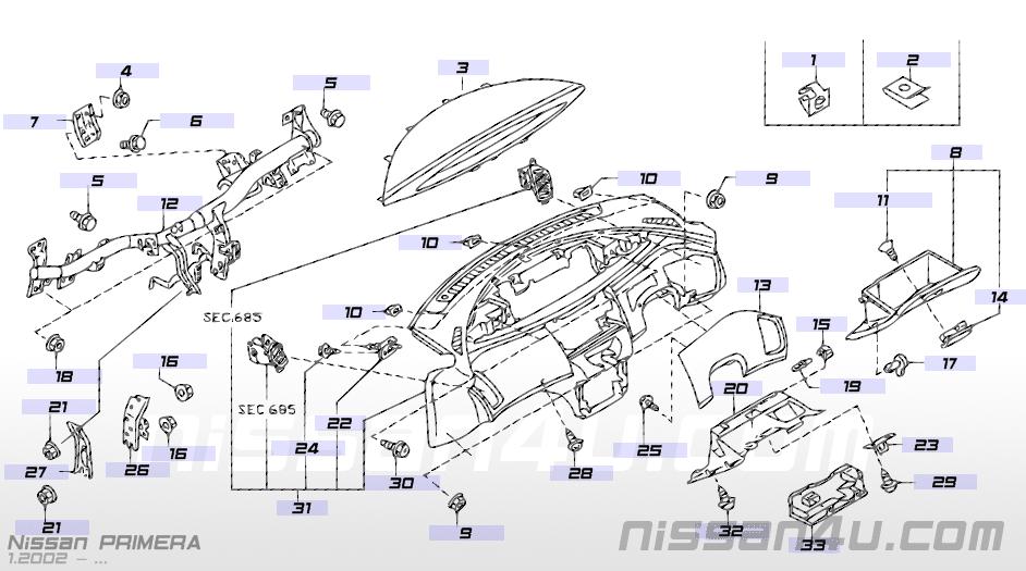 nissan primera p12 missing trim finisher - nissan primera owners