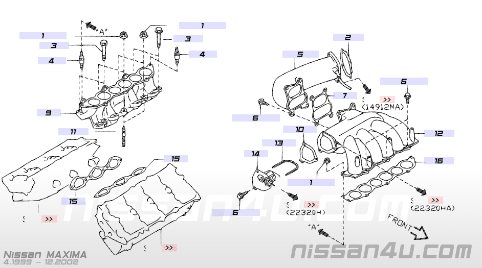 2000 Nissan Altima Intake Manifold Diagram - Wiring Diagram Filter